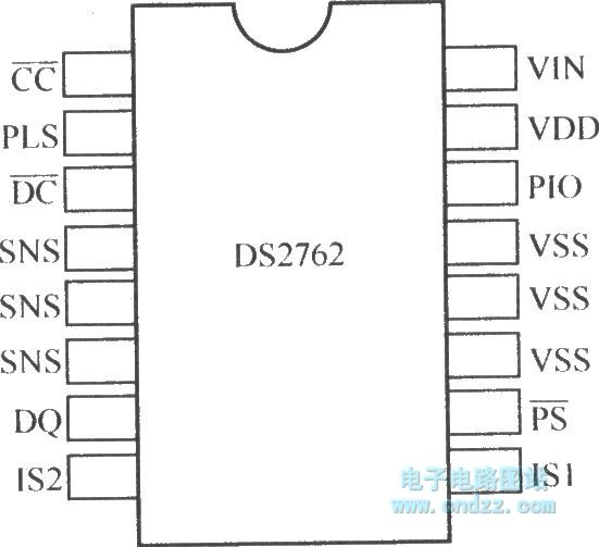 ds2762 pin array diagram - other circuit