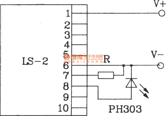 direct infrared remote control switch circuit diagram