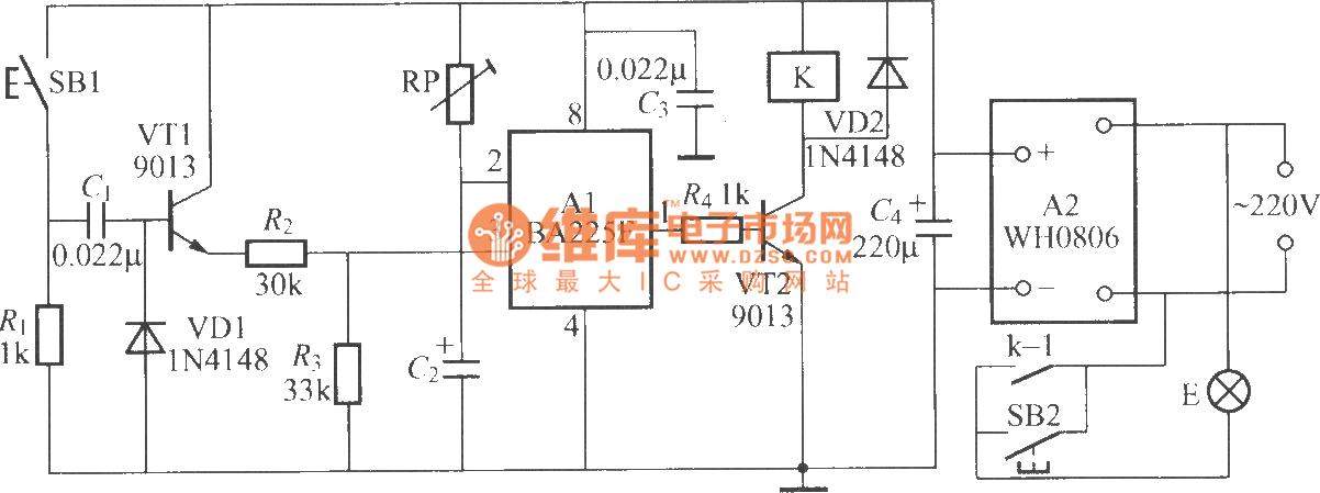 Dark Room Exposure Timing Light Circuit 2  Ba225f