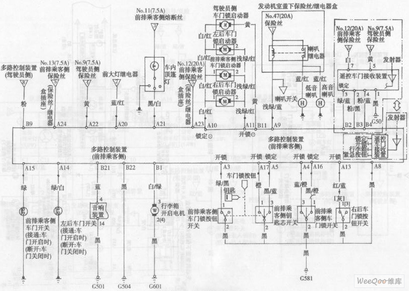 accord anti-theft system circuit diagram 2