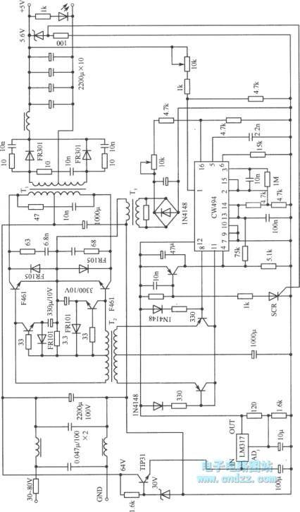 practical circuit of push