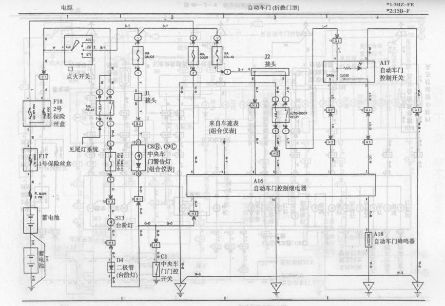 toyota coaster bus automatic door circuit diagram - 555 circuit - circuit diagram