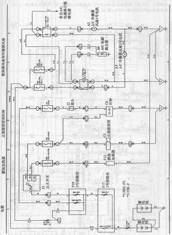 toyota coaster bus engine circuit diagram 2