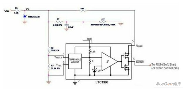 low cost thermal protection circuit diagram with. Black Bedroom Furniture Sets. Home Design Ideas