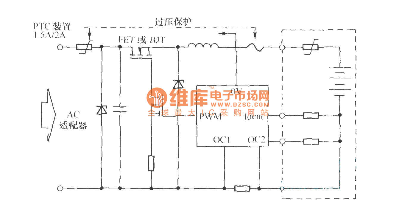 battery charge protection circuit composed of ptc component and rh seekic com
