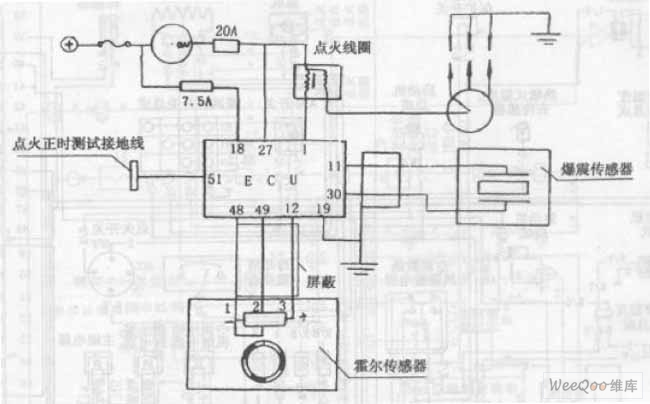 chang an alto car engine ignition system circuit diagram automotive circuit circuit diagram