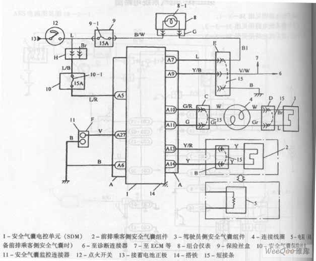 chang antelope car air bag system circuit diagram. Black Bedroom Furniture Sets. Home Design Ideas