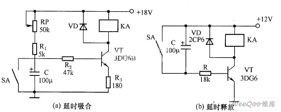Transistor Time Relay Circuit Diagram Led And Light Circuit