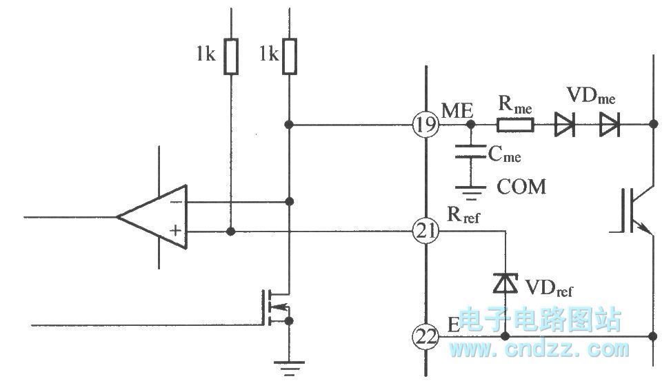 igbt uce voltage monitor principle