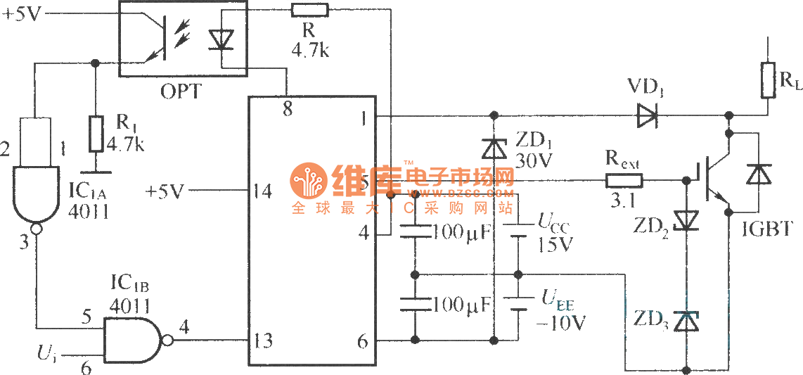 M57962L typical application ex le on audio amplifier circuit