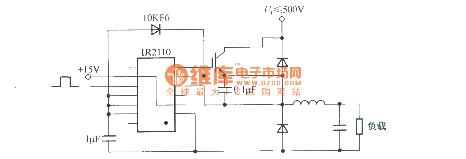 Application of IR2110 in Buck convertor - Basic_Circuit - Circuit