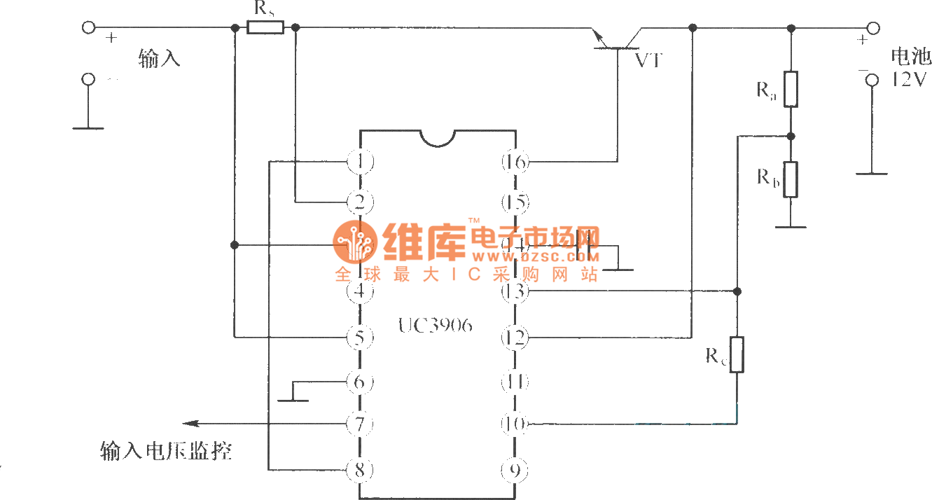 The Basic Circuit Of Double Level Floating Charge Charger Composed Http Wwwseekiccom Circuitdiagram Basiccircuit Analogcircuit Uc3906