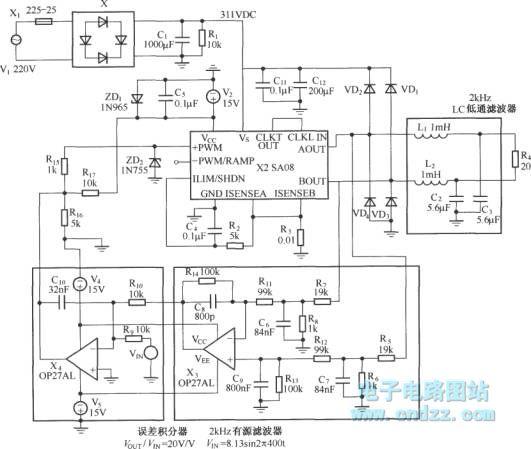 115V/400Hz voltage power supply circuit - Power_Supply_Circuit