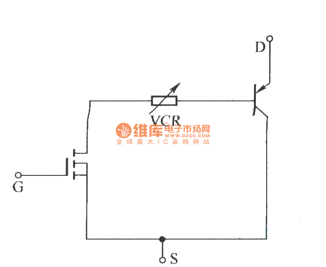 igbt vcr  voltage controlled resistor  equivalent circuit