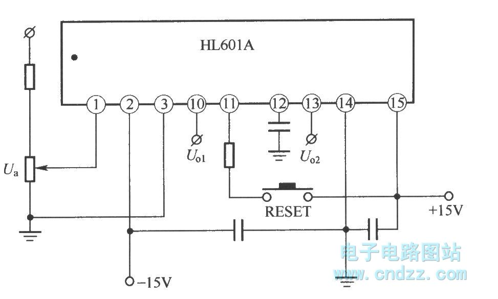 Typical Application Wiring Diagram Of Hl610a