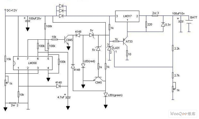 practical lithium battery quick charger circuit