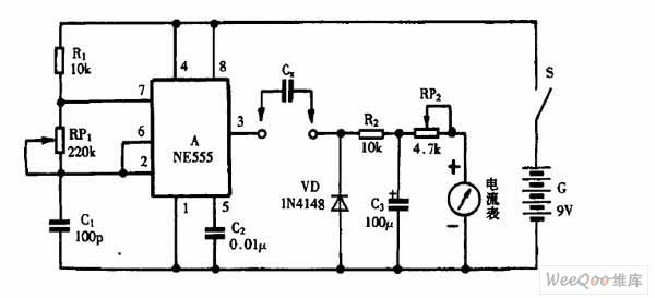 capacitance measurement circuit diagram