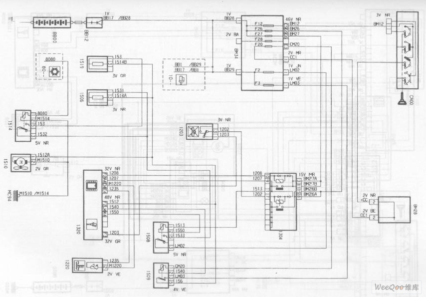 The Engine Cooling System Circuit Of The Dpca Picasso 2 0l