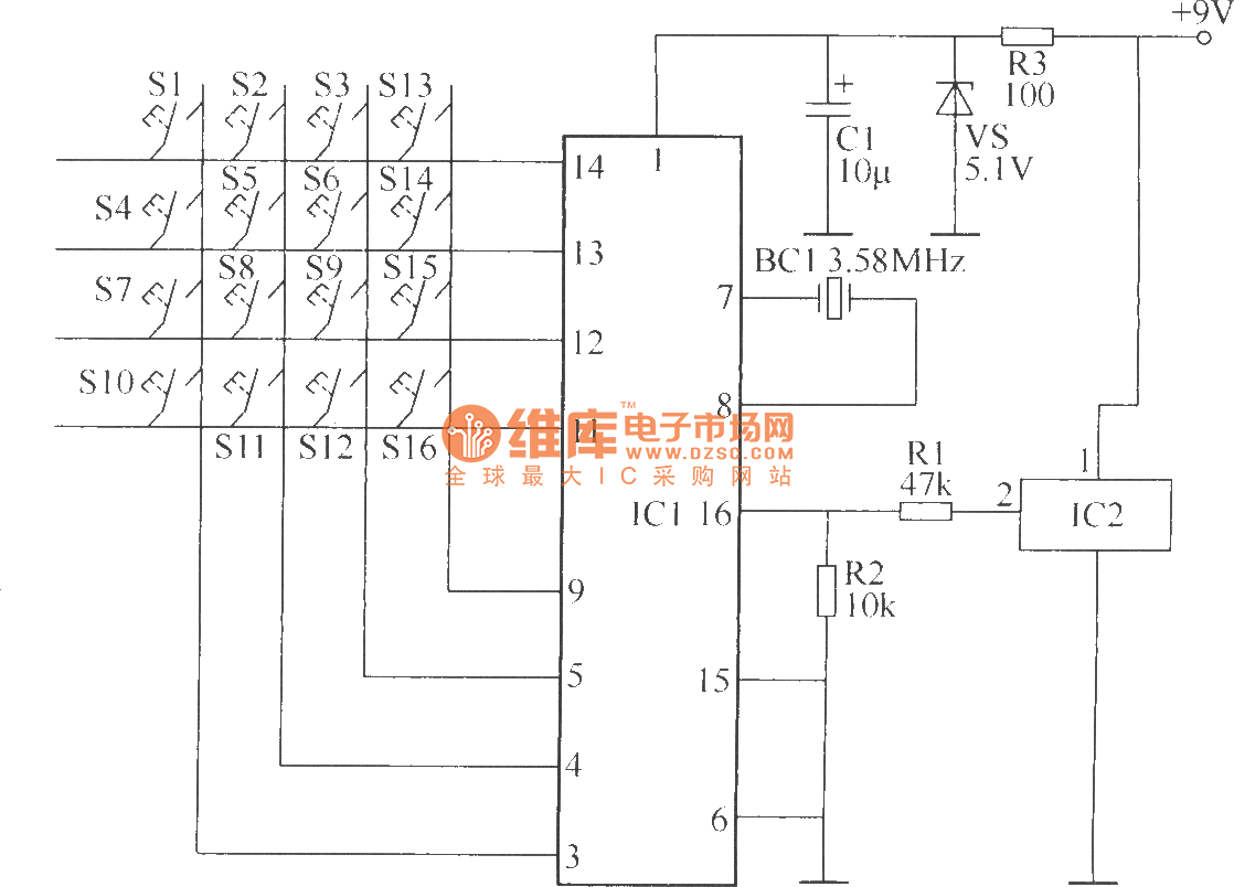 Wireless Remote Control Switch Circuit 5 Chopperforictester Basiccircuit Diagram Seekiccom