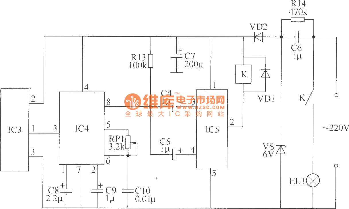 Wireless Remote Control Switch Circuit 4 Radio Frequency Controlcircuit Diagram Seekic
