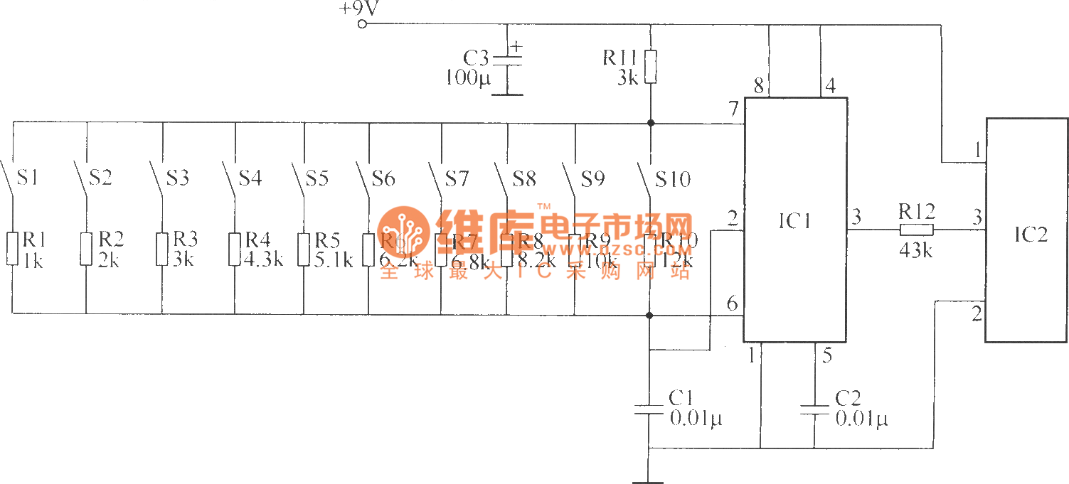 Wireless Remote Control Switch Circuit 4 Index 5 555 Diagram Seekiccom