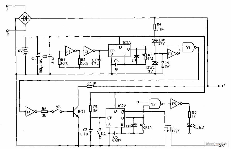 New phone line protection circuit diagram - Telephone ...