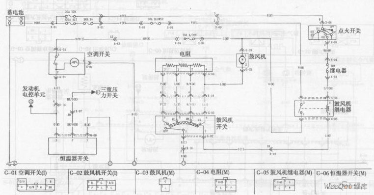 the no 1 air conditioning system circuit of the dong feng yue da kia rh seekic com