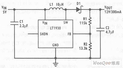 Minitype 5V to 12V boost converter circuit - Power_Supply ...