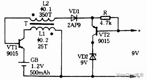 Search together with Index205 further Voltage Divider Potentiometer Wiring Diagram likewise Three 12V 15V input and 9V output booster circuits besides Simple Boost Converter Circuit. on dc voltage booster circuit diagram 10