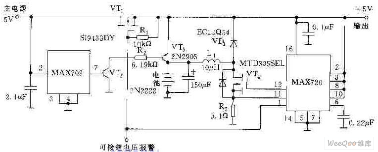 5v  1a constant ac stabilized voltage power supply circuit