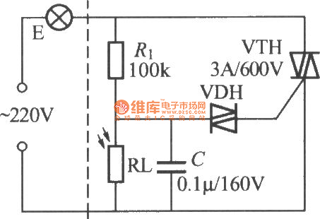 Simple Light Operated Street Lamp Circuit Diagram 4