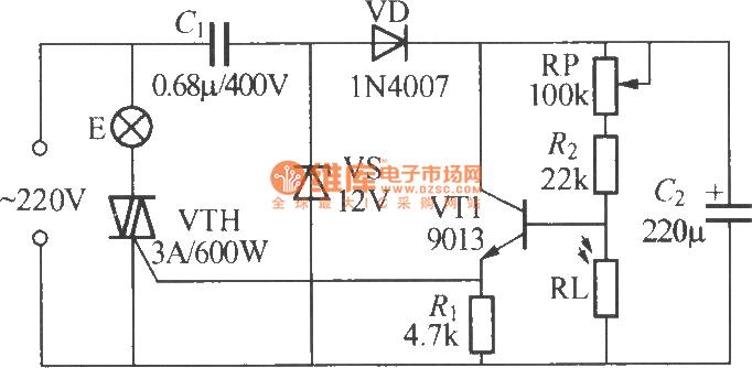 simple light operated l circuit diagram 5 circuit circuit diagram