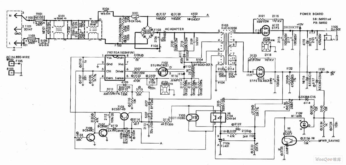 monitor circuit diagram the wiring diagram philips 170b4 lcd monitor switch power supply circuit circuit diagram