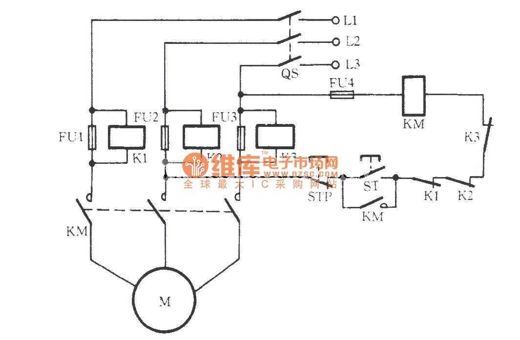 Fuse Voltage Control Signal Relay Open