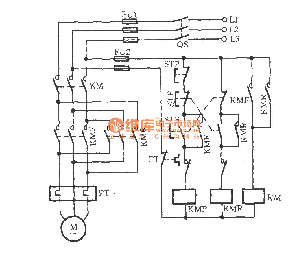 Three Phase Motor For Against Short Circuit Commutation Relaycontrol Controlcircuit Diagram Seekic