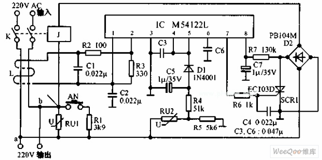 multi-functional leakage protection switch circuit