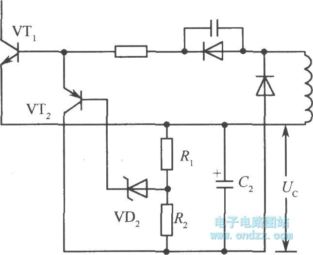 the method to change the output voltage of the ringing switch power supply