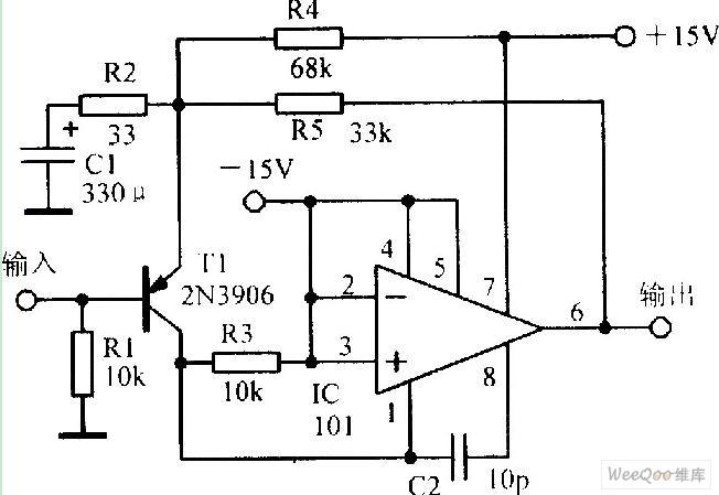 broadband low noise amplifier circuit
