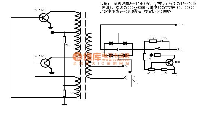 the inverter circuit 14 - power supply circuit