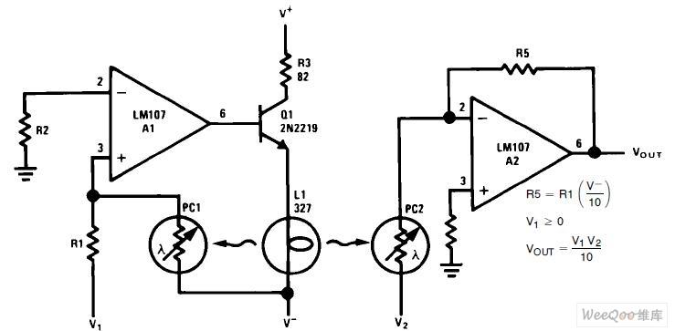 Analog Multiplier Circuit Automotivecircuit Circuit Diagram