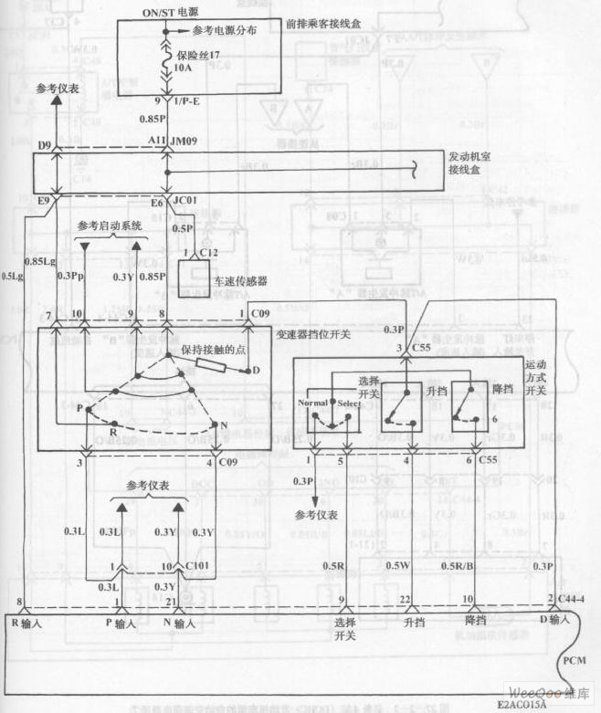Automatic Transmission Circuit of Hyundai Sonata with V4 ... V4 Engine Diagram