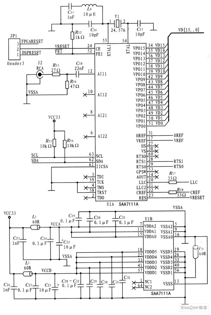 video capture circuit - amplifier circuit - circuit diagram