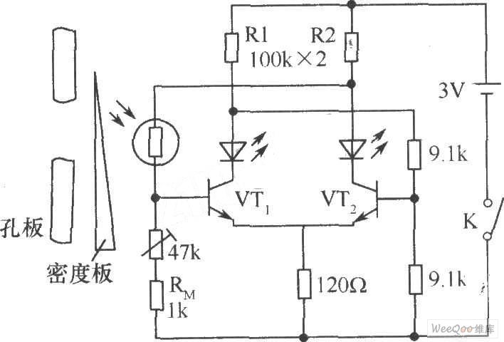 cds photoresistor for electronic metering device circuit