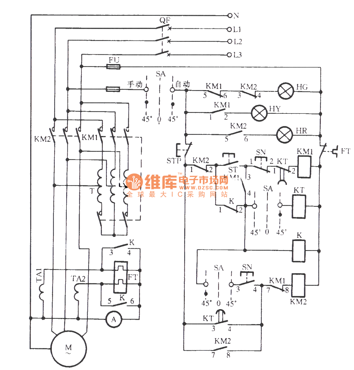 vertical mill electrical control circuit relay control rh seekic com electric motor speed control circuit diagram electrical control circuit diagram