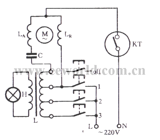 ordinary fan circuit - relay control