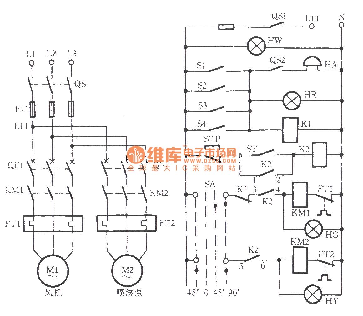 The Fire Damper Auto Control Circuit Of Air Conditioner Powertooltorquecontrol Controlcircuit Diagram Seekic