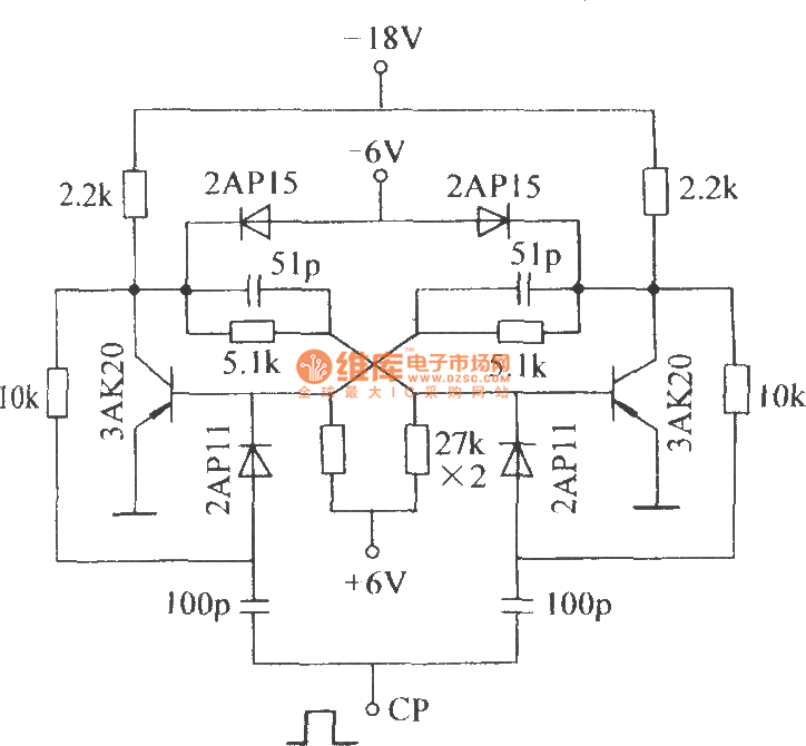 The Dual Stable Circuit With Diode Clamper Control