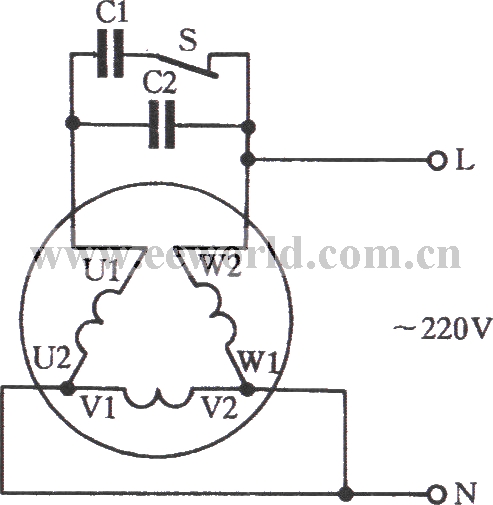 380v 3 phase wiring diagram get free image about wiring for How to convert 3 phase motor to single phase 220v