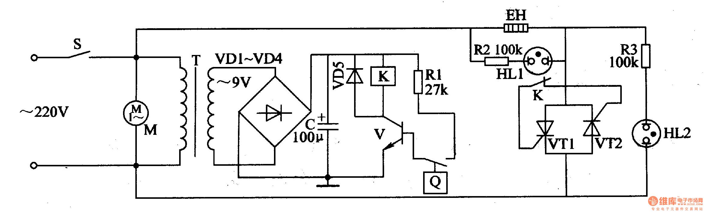 The Eggs Hatching Incubator Circuit Diagram 1