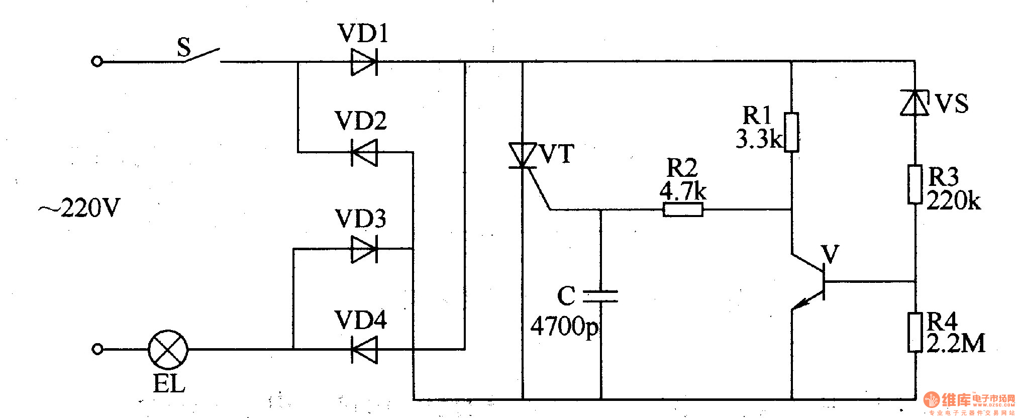diagram circuit rl diode voltage regulator diagram